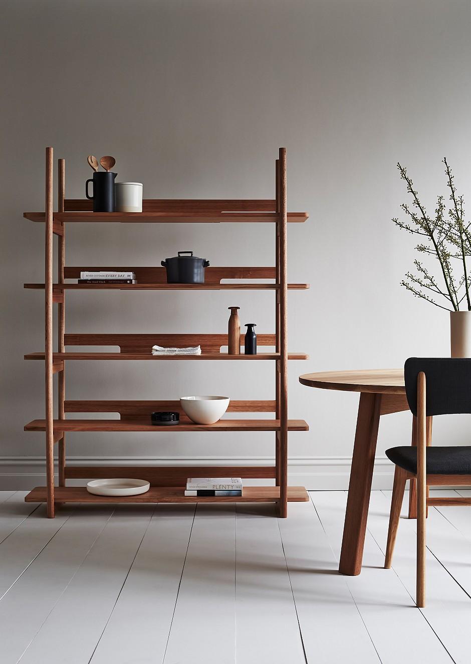 tana shelf unit tide design handmade furniture. Black Bedroom Furniture Sets. Home Design Ideas