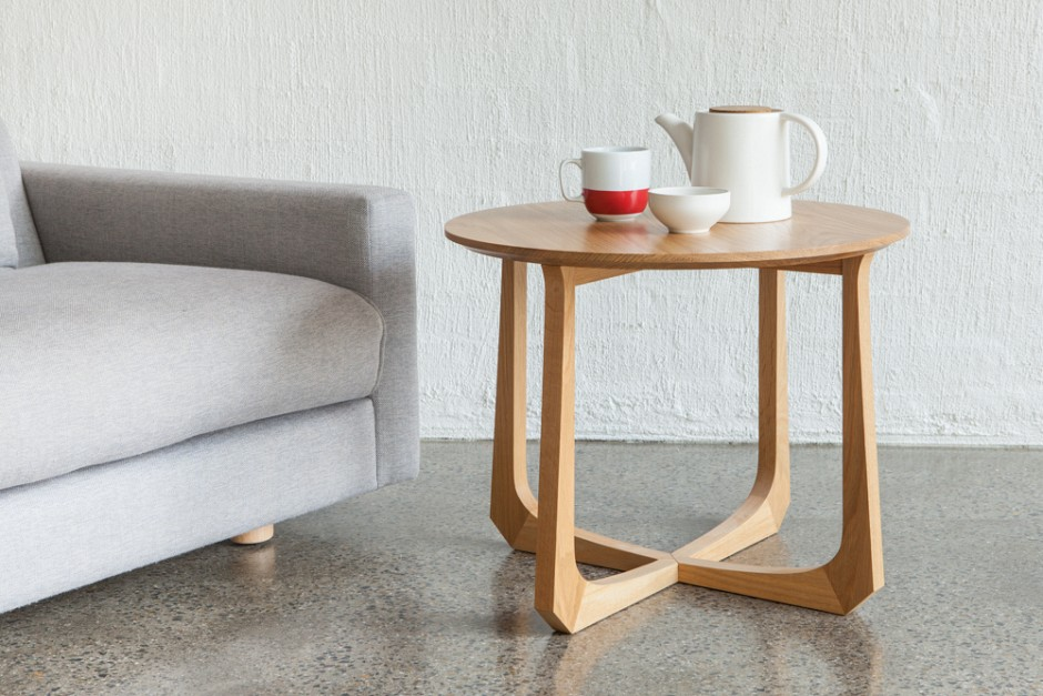 La corona side table tide design handmade furniture for Latest side table designs