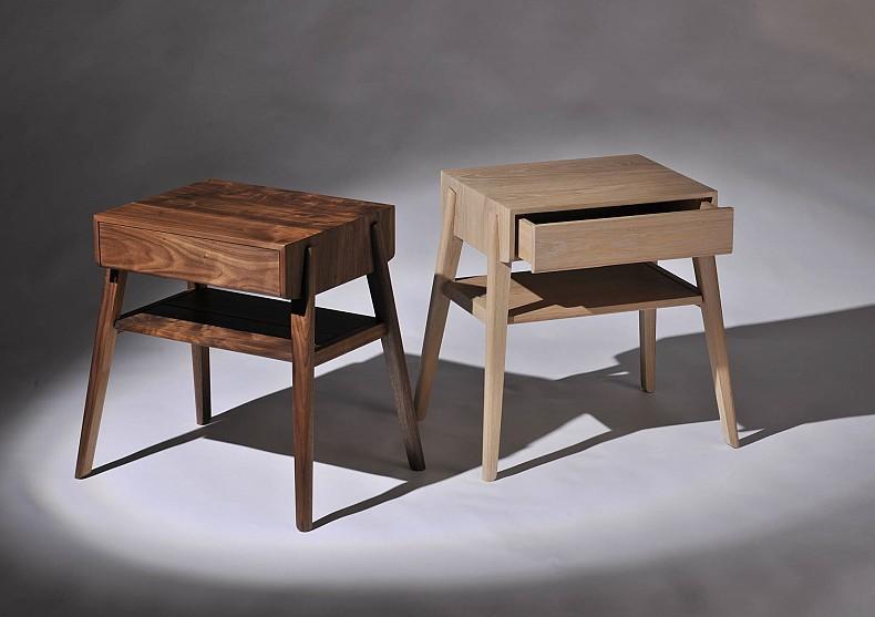 Tuki bedside table tide design handmade furniture for Php table design