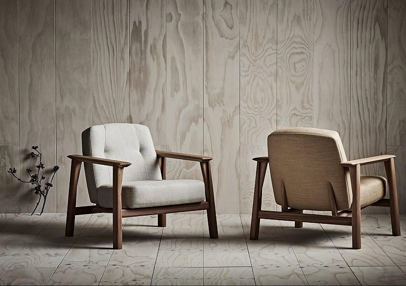 Brixton Armchairs by TIDE Design, Melbourne.
