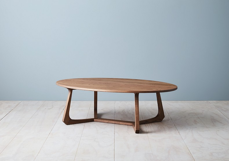 Maya Oval Coffee Table by TIDE Design. 2