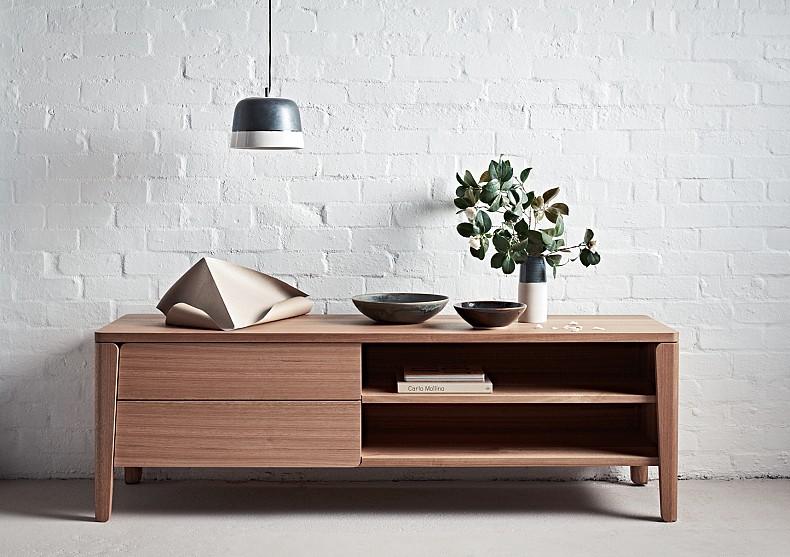 Polly Cabinet in Tasmanian Oak by TIDE Design, Melbourne, Australia.