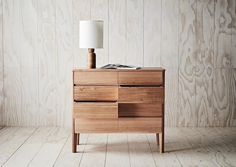 Kuri Dresser - in Tasmanian Oak. By TIDE Design, Melbourne. 4